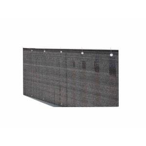 Brise vue pour grillage 500 x H.120 cm Brun Havane JARDIDECO