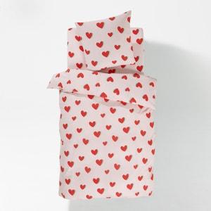 CŒURS Duvet Cover and Pillowcase Set La Redoute Interieurs