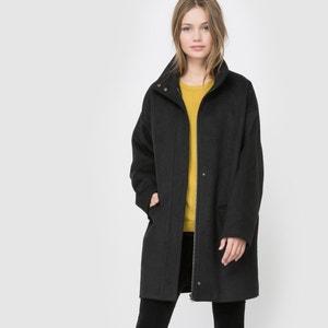 Cappotto ampio, 50% lana La Redoute Collections