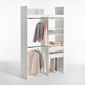 Dressing modulable 1 colonne et 2 penderies Yann LES PETITS PRIX