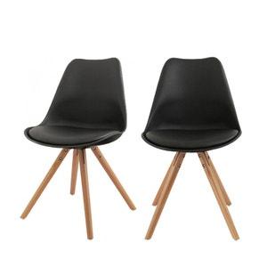 Lot de 2 chaises design Ormond Round DRAWER