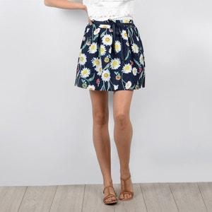 Falda corta evasé, estilo patinadora, estampado floral MOLLY BRACKEN