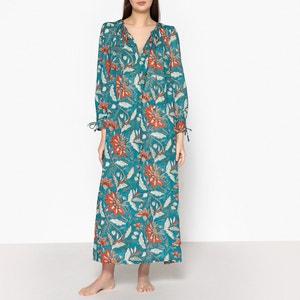 Robe imprimée fleurs KALAO DRESS ANTIK BATIK