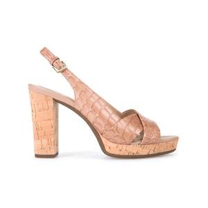 Sandálias com tacão D Mauvelle C GEOX