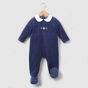 Pyjama velours col Claudine 0 mois-3 ans R mini