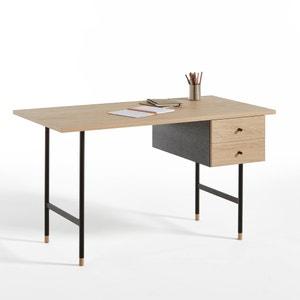 Biface 2 Drawer Desk La Redoute Interieurs