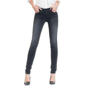 Jeans Push Up Wonder taille moyen et jambe skinny SALSA