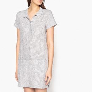 Lionela Short Shirt Dress in Linen HARRIS WILSON