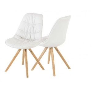 Lot de 2 chaises matelassés ZAGO