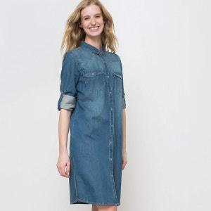 Robe en jean La Redoute Collections
