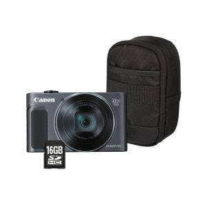 Appareil photo compact CANON Pack SX620 HS Noir + House + SD 8Go CANON