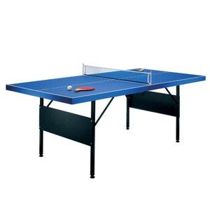 Table de ping pong pliable 183x71x91cm + 2 raquettes RILEY