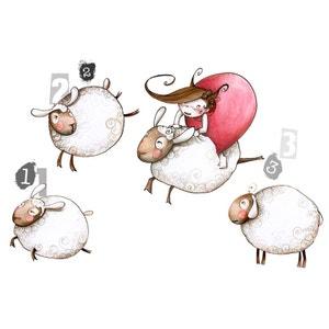 Sticker enfant - Saute-mouton ACTE DECO