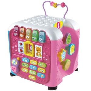 Maxi cube multi-activités : rose VTECH