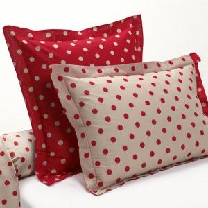 CLARISSE Polka Dot Print Cotton Single Pillowcase La Redoute Interieurs