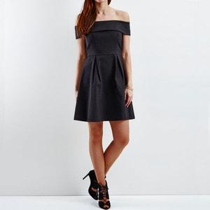 Schulterfreies Kleid, Festmode VILA