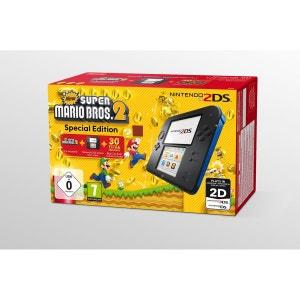 Console Nintendo 2DS Noir & Bleu - New Super Mario Bros. 2 2DS NINTENDO