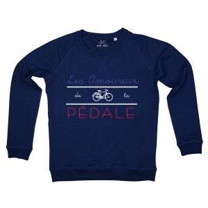 Sweat-shirt Femme Amoureux de la Pédale P TIT VELO