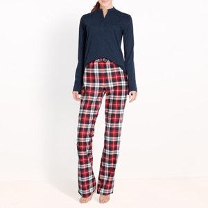 Pyjama, pantalon à carreaux R essentiel