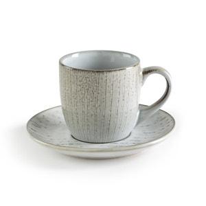 Tasse et sous-tasse en grès, Amedras (x4) AM.PM.