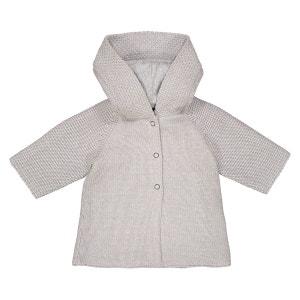 Gilet en tricot à capuche - 0 mois - 3 ans La Redoute Collections