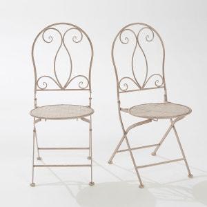 Chaise fauteuil banc de jardin la redoute - La redoute chaise de jardin ...