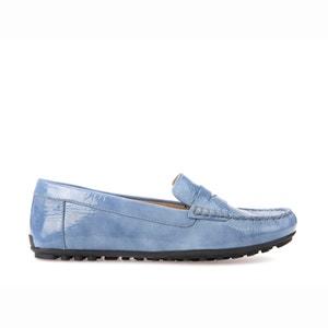 D Lellyan B Leather Loafers GEOX