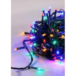 Guirlande électrique multicolore - Intérieur ou extérieur - 180 LED - A positionner sur 16m - 8 jeux de lumière ! NONAME