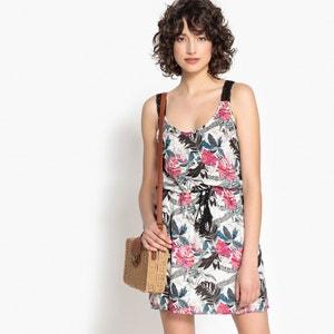 Vestido evasé, largo e curto, estampado floral KAPORAL 5