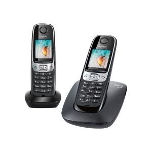 Téléphone sans fil duo GIGASET C620 Noir GIGASET