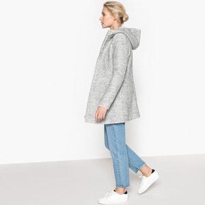 Abrigo de lana de rizo La Redoute Collections