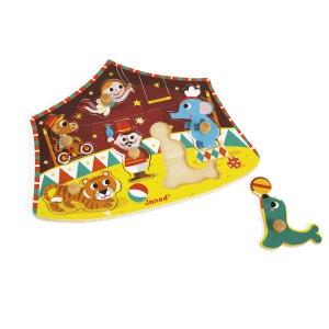 Puzzle Cirque des étoiles 6 pcs (bois) - JURJ07060 JANOD