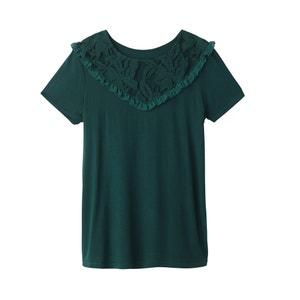 Tee shirt col rond en coton R édition