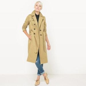 Mid-Length Cotton Raincoat R édition