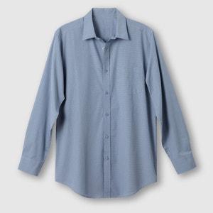 Camisa em popelina, estatura 2 (entre 1m76 e 1m87) CASTALUNA FOR MEN