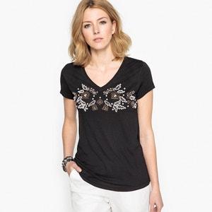 T-shirt bijou, manches courtes ANNE WEYBURN