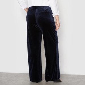 Pantalón ancho de terciopelo CASTALUNA