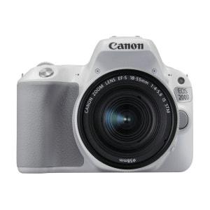 Reflex CANON EOS200D Blanc+EF-S18-55ISST CANON