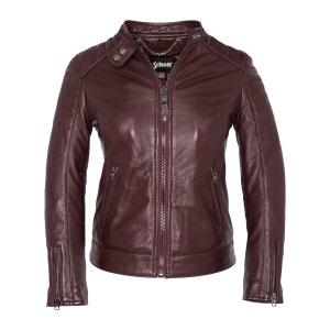 HARVEY Leather Biker Jacket SCHOTT