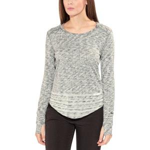 Natasha Burnout - Sweat-shirt Femme - gris MARMOT