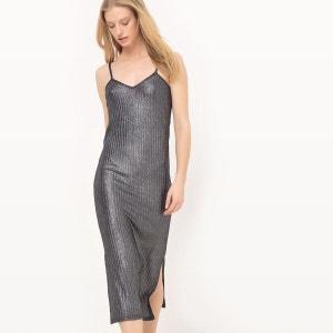 Robe longueur genou, fines bretelles R Edition