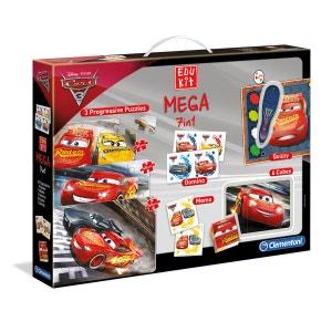 Edukit Mega 7 en 1 Cars 3 CLEMENTONI