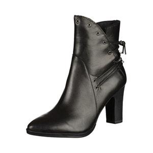 Boots à talon cuir TAMARIS