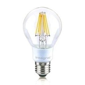 INTEGRAL LED Ampoule classic E27 filament 806lm 7W équivalent a 60W INTEGRAL