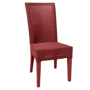 chaise cuir rouge la redoute. Black Bedroom Furniture Sets. Home Design Ideas