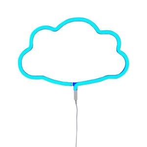 NEON NUAGE - Applique LED Nuage Bleu L38cm - Applique A Little Lovely Company designé par A LITTLE LOVELY COMPANY