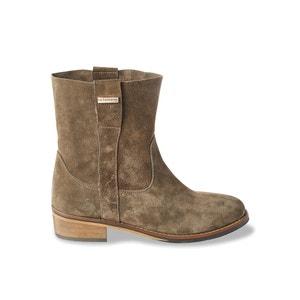 Leren boots Curcuma LES TROPEZIENNES PAR M.BELARBI