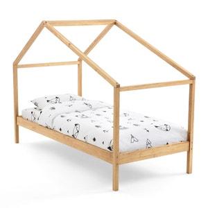 Caban bed in massief dennenhout met lattenbodem Spidou