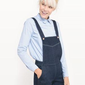 Jeans-Latzhose, unifarben MADEMOISELLE R