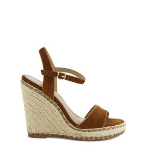 Sandalias de piel con cuña Gomia COSMOPARIS